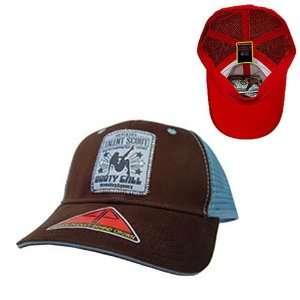 Talent Scout Pocket Mesh Flex Baseball Cap (Brown