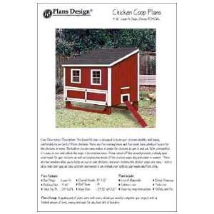 x6 Chicken Coop / Hen House Plans, Lean to Roof Style (How to build