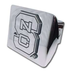 Carolina State University Wolfpack Bright Polished Chrome with NCS