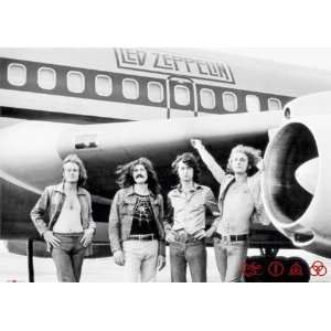 LED ZEPPELIN   CLASSIC ROCK   NEW POSTER   PLANE (Size 24