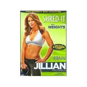 Jillian Michaels Shred It With Weights: Movies & TV