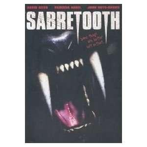 Sabretooth [VHS] Vanessa Angel, Justin Carroll, Jenna