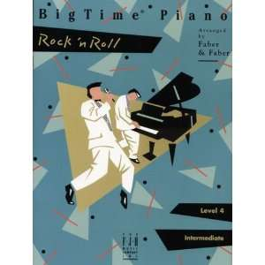 Big Time Piano Rock & Roll Level 4, Intermediate Faber