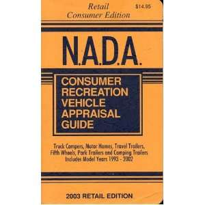 NADA Consumer Recreation Vehicle Appraisal Guide: 1993