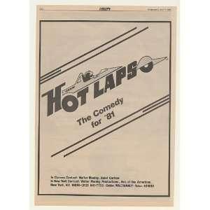 1980 Hot Laps Movie for 81 Promo Trade Print Ad (Movie Memorabilia