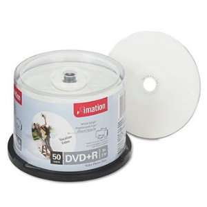 IMATION DVD+R Discs 4.7GB 16x Spindle White 50/Pack High