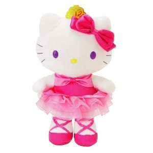 Hello Kitty   Tutu Hello Kitty 8 Plush: Toys & Games