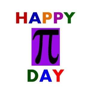 Happy Pi Day Stickers Arts, Crafts & Sewing