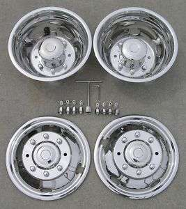 19.5 03 04 FORD F450 / F550 Dually Wheel Simulators