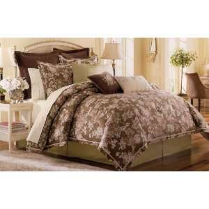 Gwendolyn Mulberry Oversize Queen 8 Piece Complete Bed Set