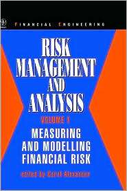 , Vol. 1, (0471979570), Carol Alexander, Textbooks   Barnes & Noble
