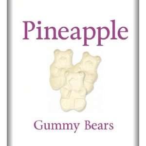Albanese Pineapple Gummi Bears 2lbs Grocery & Gourmet Food