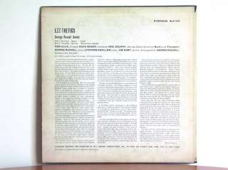 GEORGE RUSSELL Ezz Thetics   Riverside RLP 375 UK Eric Dolphy