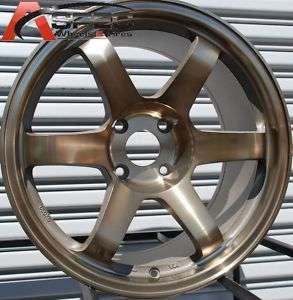 17X9 ROTA GRID WHEELS 4X114.3 RIMS 12MM SPORT BRONZE