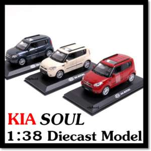KIA BrandCollection] KIA SOUL Diecast Model Mini Car |