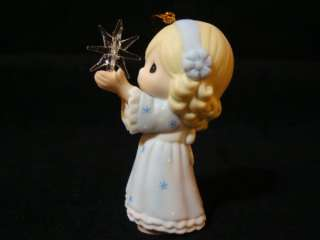 fa Precious Moments Girl/Star Thy Perfect Light Nativity