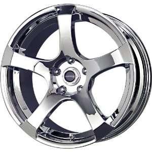 Liquid Metal Static Series Chrome Wheel (17x7/5x114.3mm): Automotive
