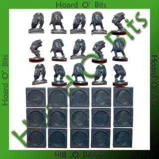 KINGS OF WAR UNDEAD ZOMBIES   15x ZOMBIE LEGS