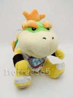 Mario Bros New 7Cute BOWSER Plush Doll Figure Toy MT95