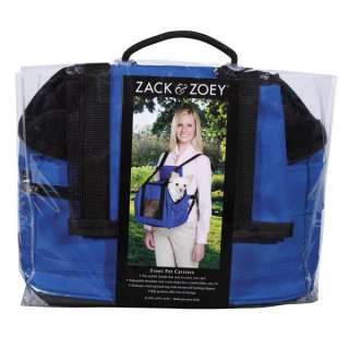 Zack & Zoey Dog Pet Carrier   Blue   Up to 10 lbs or 4.5 kgs