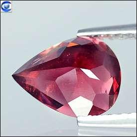 10ct  Genuine Lustrous Purplish Red Rhodolite Garnet