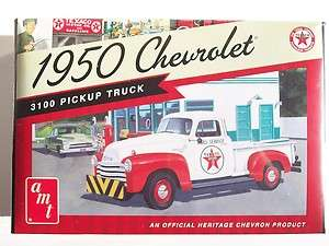TEXACO CHEVROLET PICKUP TRUCK PLASTIC MODEL KIT 1/25 SCALE NIB