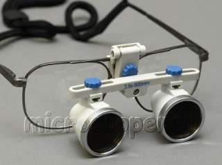 Surgical Dental Loupes 3.5X 19 in 500mm wk Distance New