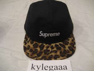 Supreme Safari 5 Panel Camp Hat Leaves Zebra Diamond Supply HUF