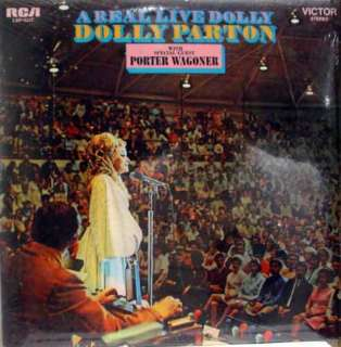 DOLLY PARTON a real live dolly LP sealed vinyl LSP 4387