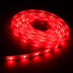 Red 5M 150 LED 5050 SMD Flexible Car DIY Strip Light