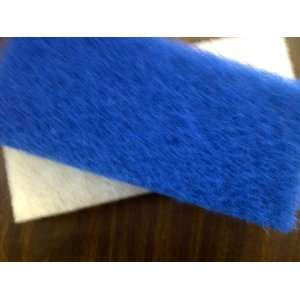 White) Extra Long Scrub Pads 10 X 4.5 X 1 Use to Clean Grout Film
