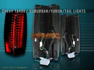2007 2010 gmc yukon yukon xl yukon denali smoke l e d tail lights
