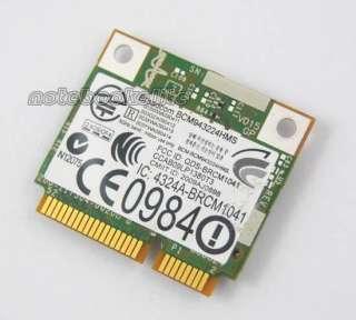 Dell Wireless WiFi Card 1520 DW1520 BCM4322 Half Size N