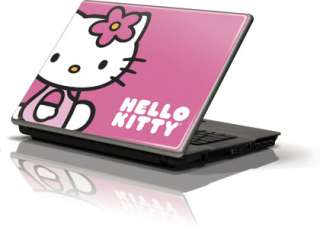 Kitty Sitting Pink Skin for Generic 12in Laptop 10.6in X 8.3in