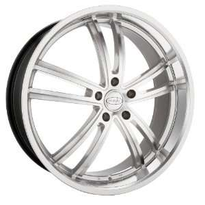 18x8 Privat Atlantik (Silver w/ Machined Face) Wheels/Rims