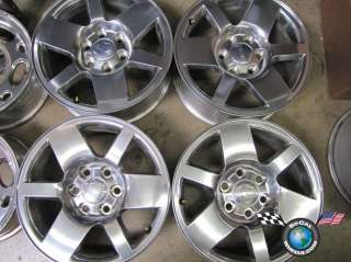 07 10 GMC Sierra Denali Yukon Factory 18 Wheel OEM Rims |