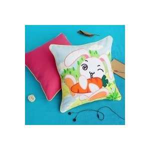 Pillow Cushion / Floor Cushion (19.7 by 19.7 inches)