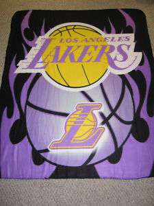 Los Angeles Lakers NBA 50 x 60 Fleece Throw Blanket