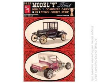 AMT 670 Model Kit 1925 Ford Tall T 3n1 Trophy Series