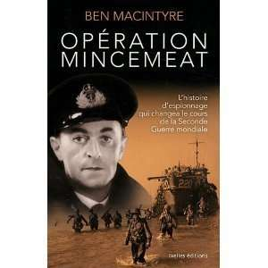 Mincemeat (french edition) Ben MacIntyre  Books