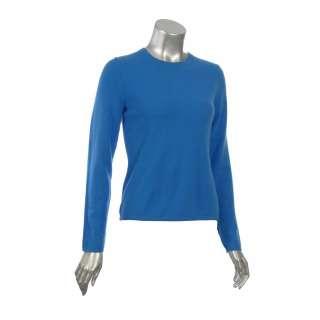 Sutton Studio Womens 100% Cashmere Crewneck Sweater