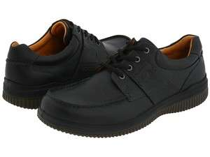 ECCO Walker 2.0 Tie Casual Mens Leather Shoe Black 520024 All Sizes
