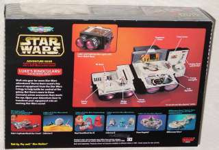 STAR WARS MICRO MACHINES LUKES BINOCULARS W/ CARD