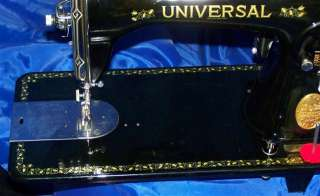 UNIVERSAL DELUXE SEWING MACHINE INDUSTRIAL STRENGTH HOUSEHOLD MACHINE