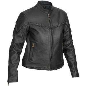 River Road Womens Trenza Jacket   2X Large/Black