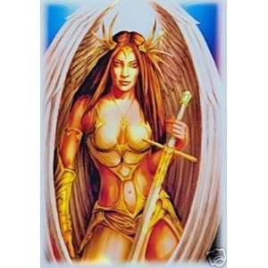 Angel MTG Deck Protectors (50): Toys & Games