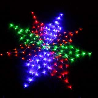 Colorful Net 160 LED Lights For Christmas Party Wedding