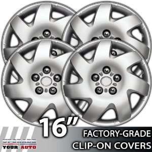 2002 2006 Toyota Camry 16 Inch Silver Metallic Clip On