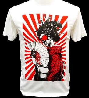 Samurai Geisha Yakuza Tattoo Art Gangster T Shirt M L X