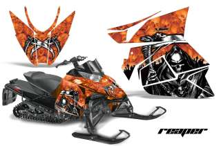 GRAPHICS WRAP KIT ARCTIC CAT PROCROSS SNOWMOBILE SLED 2012 REAPER ORG
